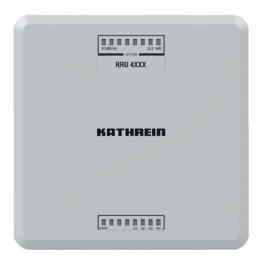 Kathrein RRU 4560 Reader Unit, 4Port, PoE+, ©KRAI, Linux, WiFi, IP67, ETSI